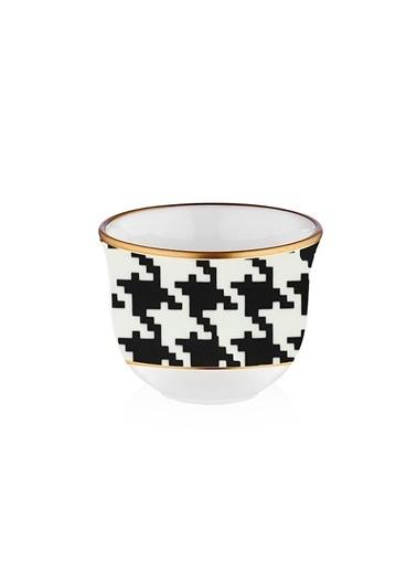Koleksiyon Gawa Kahve Seti 6 Lı Sandro Siyah Siyah